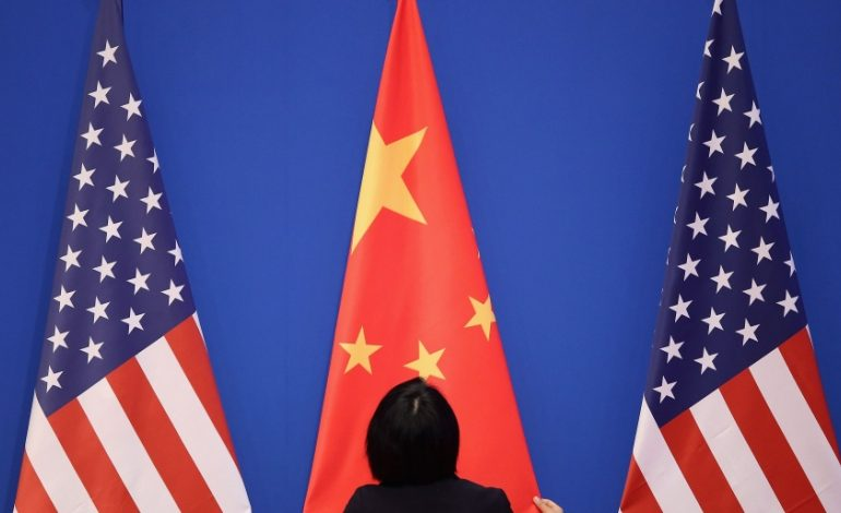 Is US engaged in strategic competition with China?