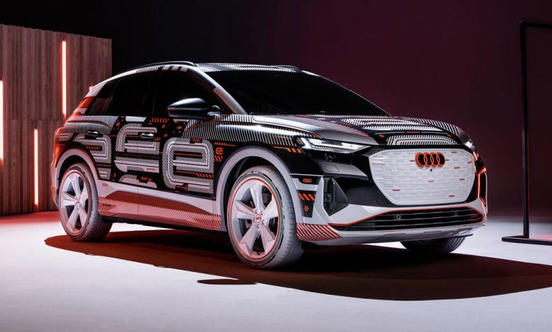 Audi starts production of its Q4 E-Tron electric crossover