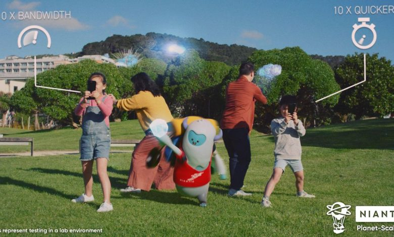 Niantic's new 5G AR game demo looks like a taste of Pokemon Go for the future