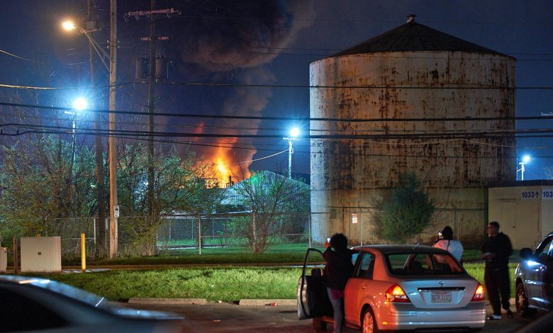 1 dead after paint plant rocked by fire