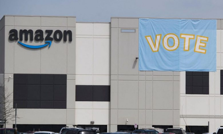 Amazon's union vote and Twitter rant: What you need to know about its labor fight