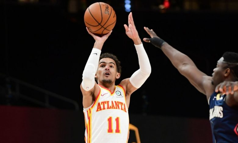 Atlanta Hawks' Trae Young diagnosed with lateral left ankle sprain
