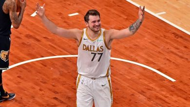 Dallas Mavericks' Luka Doncic on yet another improbable game-winning shot -- 'Kind of lucky'