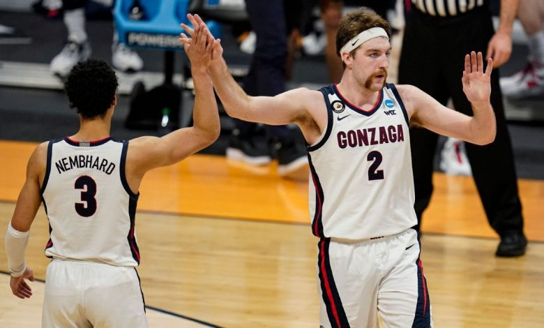 Gonzaga, UCLA 1-2 in Way-Too-Early Top 25 college basketball rankings for 2021-22