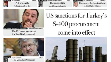 Issue 1381: US sanctions for Turkey's S-400 procurement come into effect (Digital Edition)
