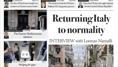 Issue 1382: Returning Italy to normality (Digital Edition)