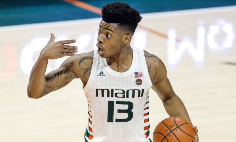Miami Hurricanes transfer Earl Timberlake commits to Memphis Tigers