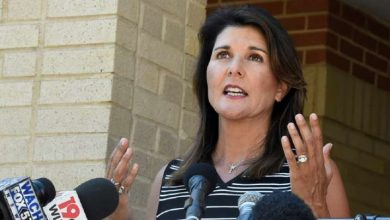 Haley, often mentioned as a possible 2024 GOP presidential contender, said Monday that she would not