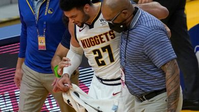 Nuggets star Jamal Murray 'devastated' after season-ending ACL injury, coach Michael Malone says
