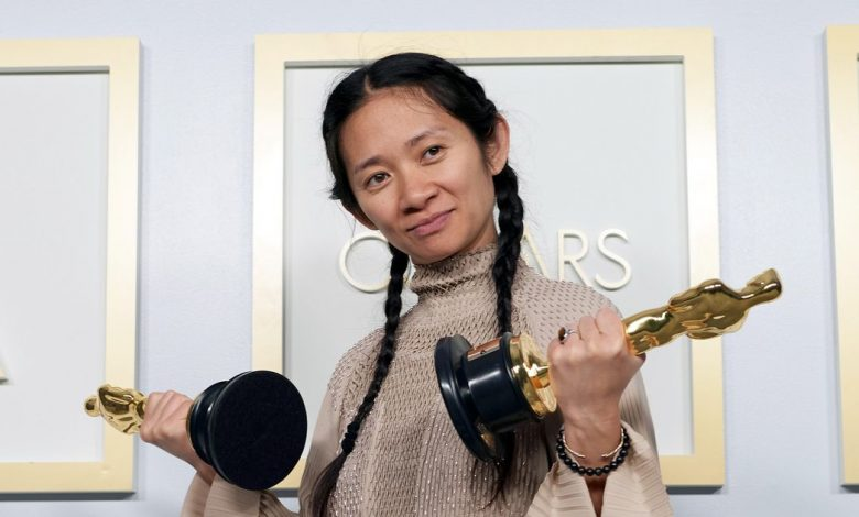 Oscars 2021: Nomadland's Chloé Zhao scoops historic best director win