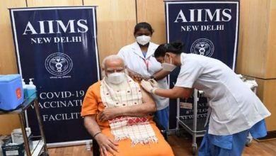 PM Modi takes second dose of COVID-19 vaccine at AIIMS