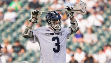 Penn State Nittany Lions' Mac O'Keefe sets NCAA record for most career goals in men's lacrosse