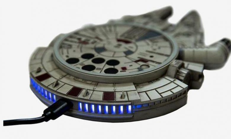 Star Wars Millennium Falcon Wireless Charger is on sale for $25 (save $25)