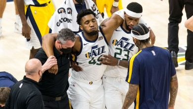 Utah Jazz star Donovan Mitchell exits game with ankle injury; X-rays negative, sources say