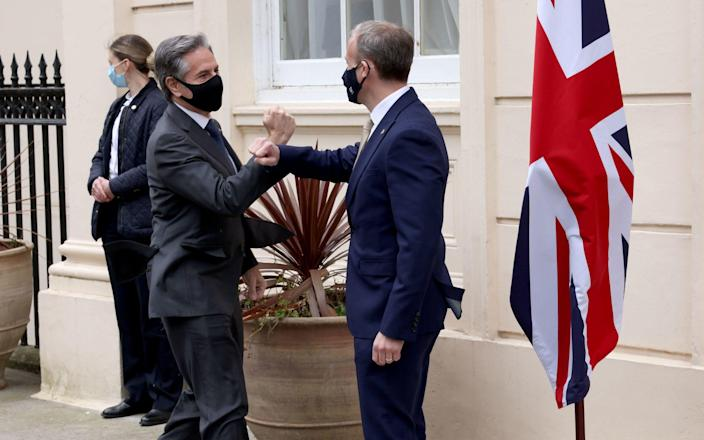 The pair are expected to discuss Iran - Jonathan Buckmaster/Daily Express/PA Wire