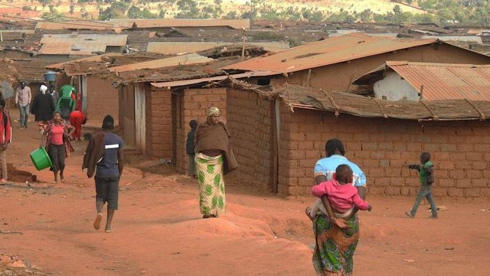 Refugees at Dzaleka Refugee Camp in the Dowa district, central region of Malawi in 2018
