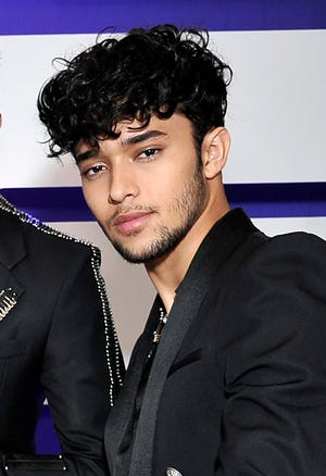 Joel Pimentel, of CNCO, posing backstage at the Latin American Music Awards in Los Angeles. The Latin American boy band CNCO is downsizing.