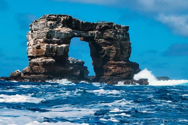 World-famous rock formation crumbles into the sea