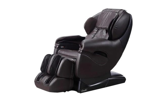 This leather recliner is at a major discount this holiday.