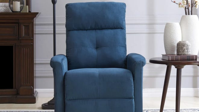 This upholstered recline chair seriously wowed buyers.