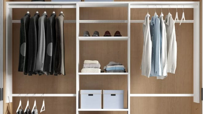 Organizing your clothes has never been so easy.