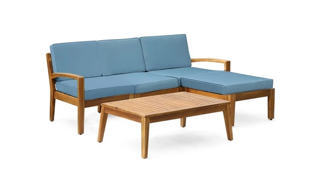 Shoppers adored this outdoor conversation set.