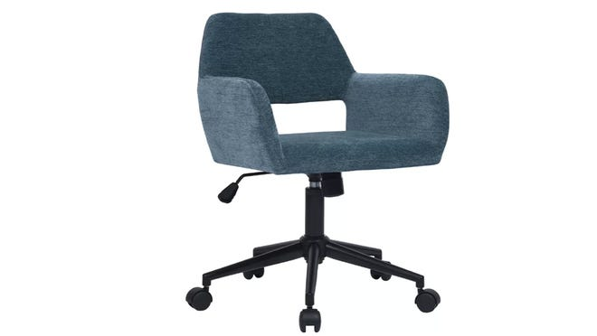 Roll around in style in this office task chair from Wayfair.