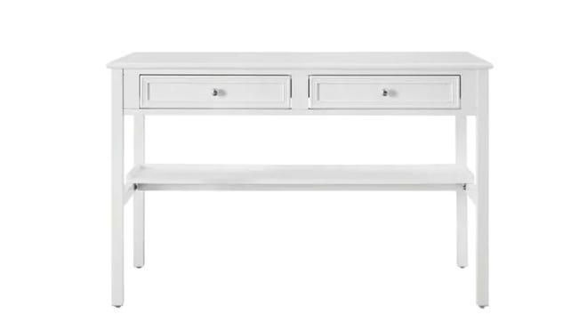 This writing desk is perfect for those who are still working or learning from home.
