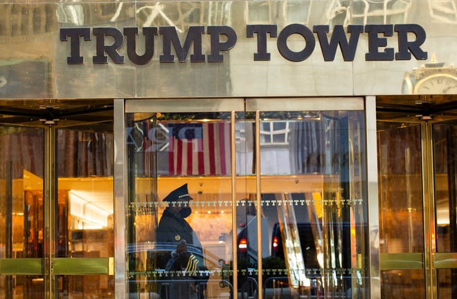 Trump Tower in New York on March 7, 2021.