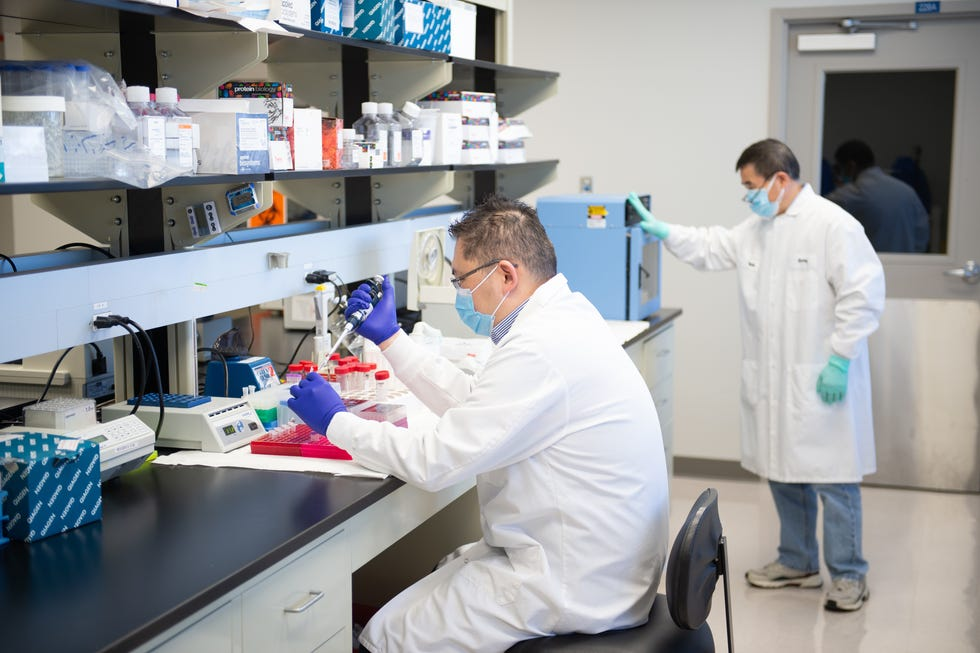 Altimmune, a biotechnology company, is working to develop a needle-less COVID-19 vaccine.