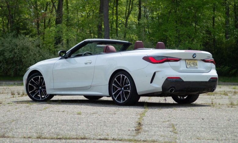 2021 BMW 430i Convertible is an open-air good time