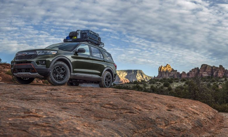 2021 Ford Explorer Timberline aims to ruggedize the family SUV
