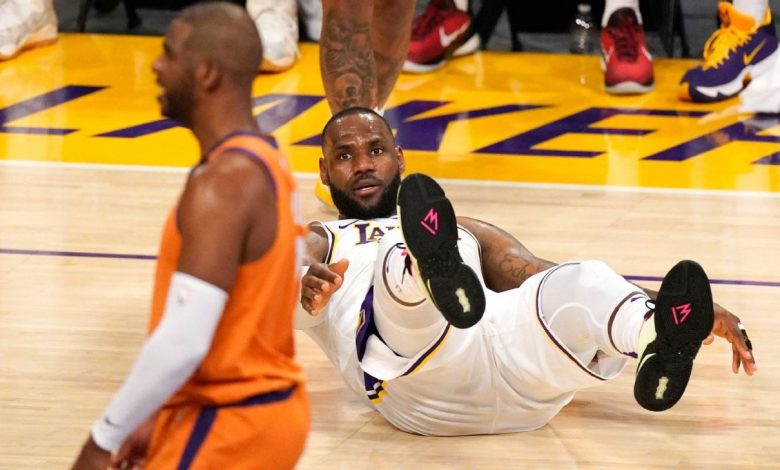 2021 NBA playoffs - Los Angeles Lakers' LeBron James ready for challenge if Anthony Davis' injury keeps him out