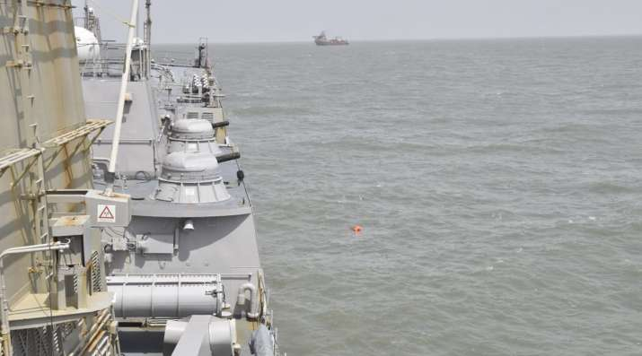 The Navy on Thursday morning launched a fresh aerial search