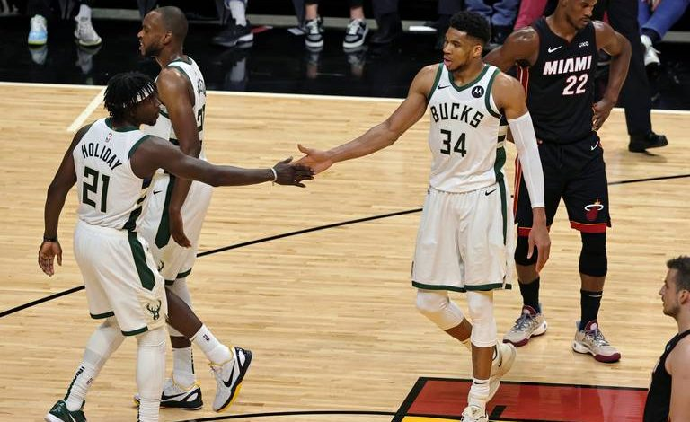 The sixth-seeded Miami Heat were blown out 113-84 by the third-seeded Milwaukee Bucks in Game 3 at AmericanAirlines Arena on Thursday.