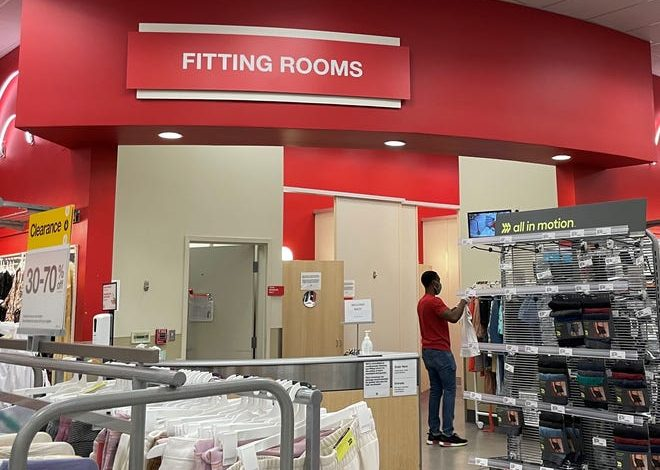 Target has started to reopen fitting rooms.