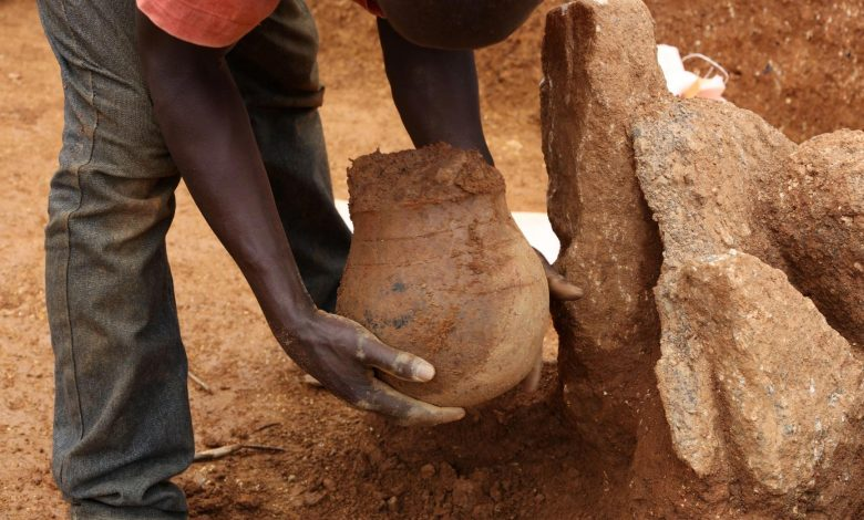 3500 Year-Old Clay Pots