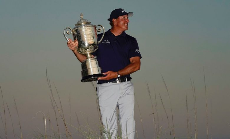 At 50, Phil Mickelson still loves the chase and caught himself one more major championship