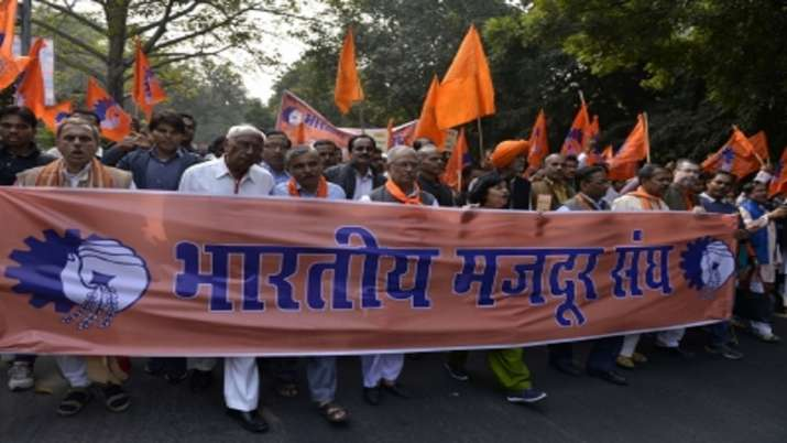 Bharatiya Mazdoor Sangh, Centre, free jabs, vaccines, compensation, workers, medical treatment, coro