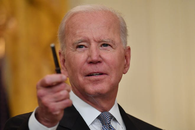 President Joe Biden will deliver a speech on the state of the economy during a visit to Cleveland on Thursday.