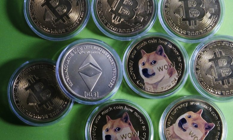 Bitcoin stable after Wednesday's drubbing—Ethereum and Dogecoin sink again