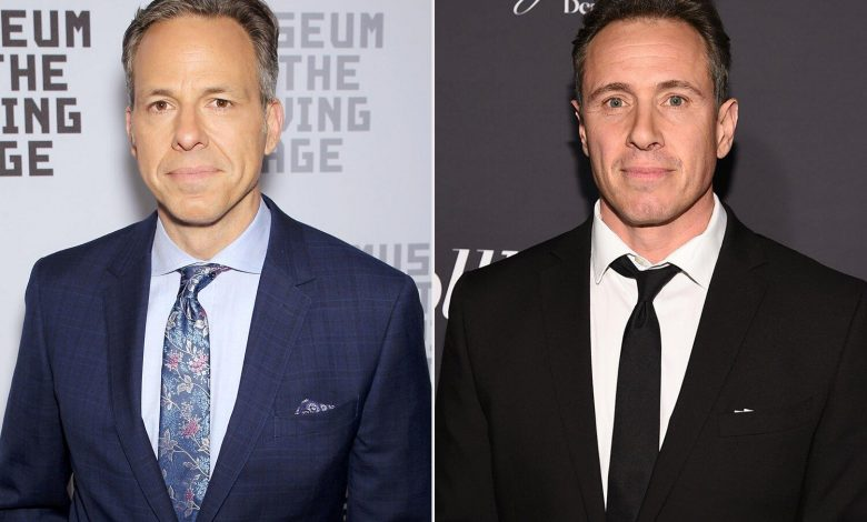 CNN's Jake Tapper Says Chris Cuomo Advising Brother Andrew on Harassment Claims Wasn't 'Appropriate'