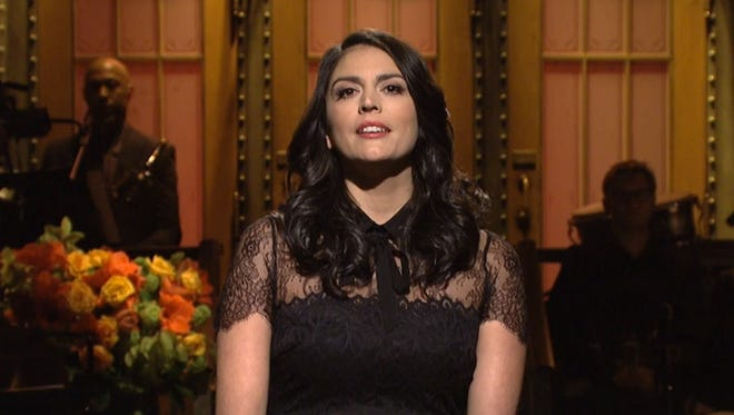 """Cecily Strong portrays Judge Jeanine Pirro in the season finale of """"SNL."""""""
