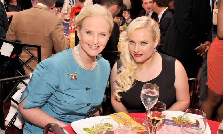 Cindy McCain says watching Meghan McCain's View arguments makes her cringe a little bit