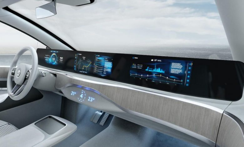Continental's massive pillar-to-pillar electronic dashboard will enter production