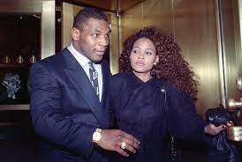 The controversial interview in which Mike Tyson's ex-wife, Robin Givens, accused her former husband of domestic violence