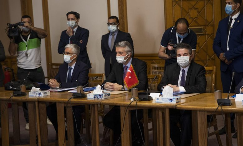 Egyptian, Turkish officials end talks with no clear progress