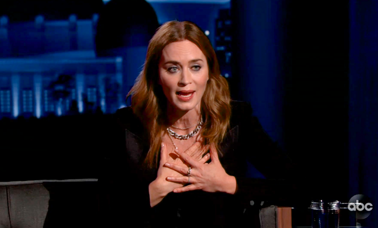 Emily Blunt explains why her first kiss was 'a horror show'