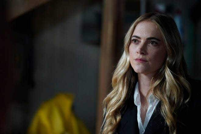 """While pursuing a dangerous arms dealer, the team is shocked when NCIS Special Agent Ellie Bishop (played by Emily Wickersham) is implicated in an old NSA leak, on the 18th season finale of CBS's """"NCIS"""" on May 25."""