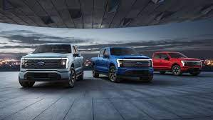Ford Motor Co. revealed the electric F-150 Lightning in a livestreamed event from Ford World Headquarters on Wednesday night